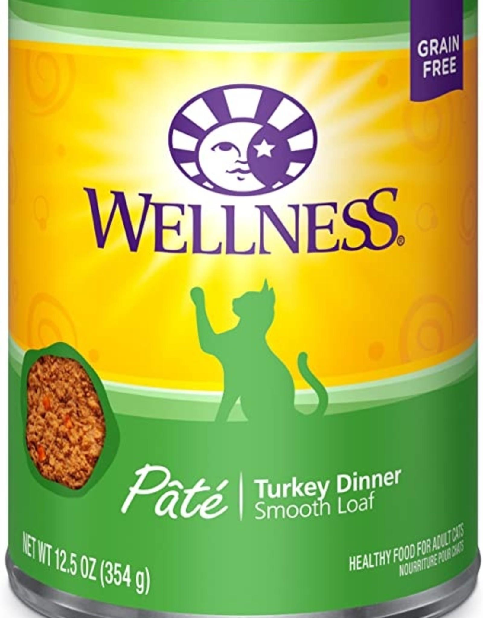 Wellness Pet Food Can Complete Turkey Pate - Grain-Free 12oz