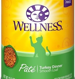 Wellness Pet Food Can Complete Turkey Pate - Grain-Free 12oz