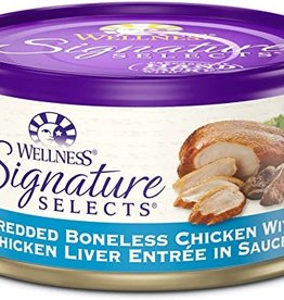 Wellness Pet Food Cat Signature Chicken Shredded - Grain-Free 5.5oz
