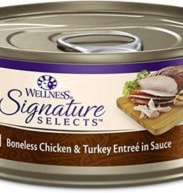 Wellness Pet Food Cat Signature Chicken & Turkey Shredded - Grain-Free 5.5oz