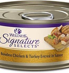 Wellness Pet Food Cat Signature Chicken & Turkey Chunky - Grain-Free 5.5oz