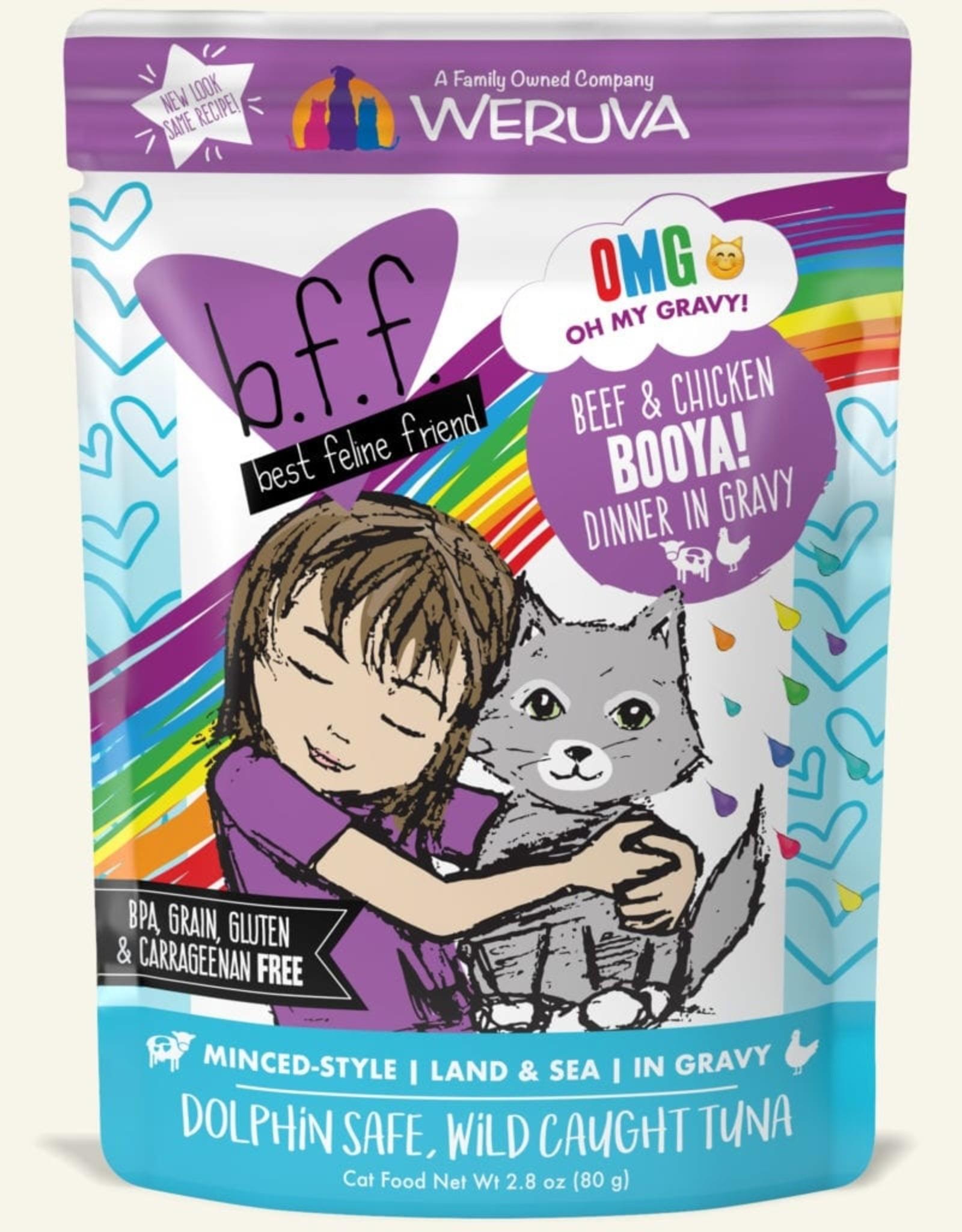 WERUVA Cat BFF Booya Minced - Grain-Free 2.8oz