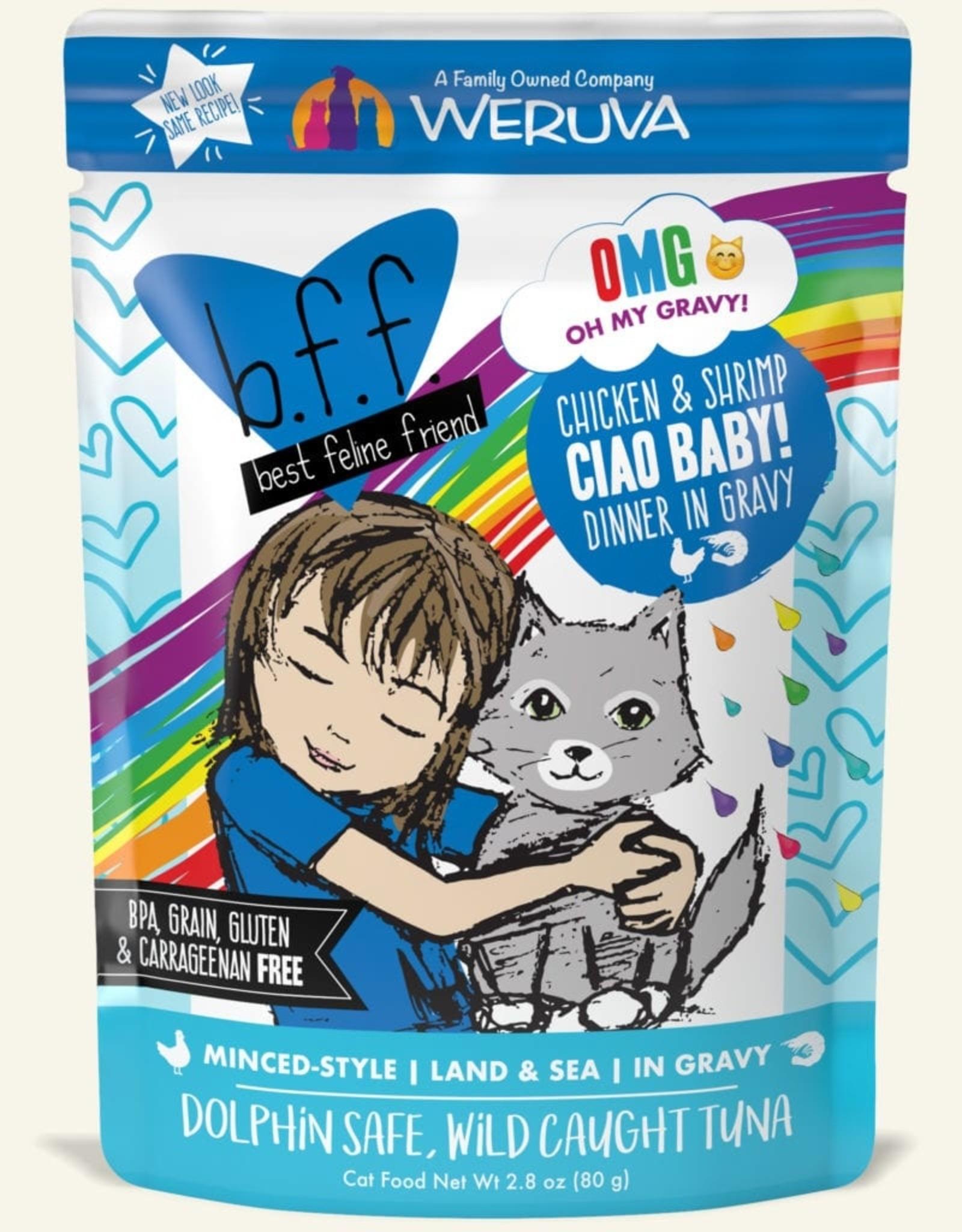 WERUVA Cat BFF Ciao Baby Minced - Grain-Free 2.8oz
