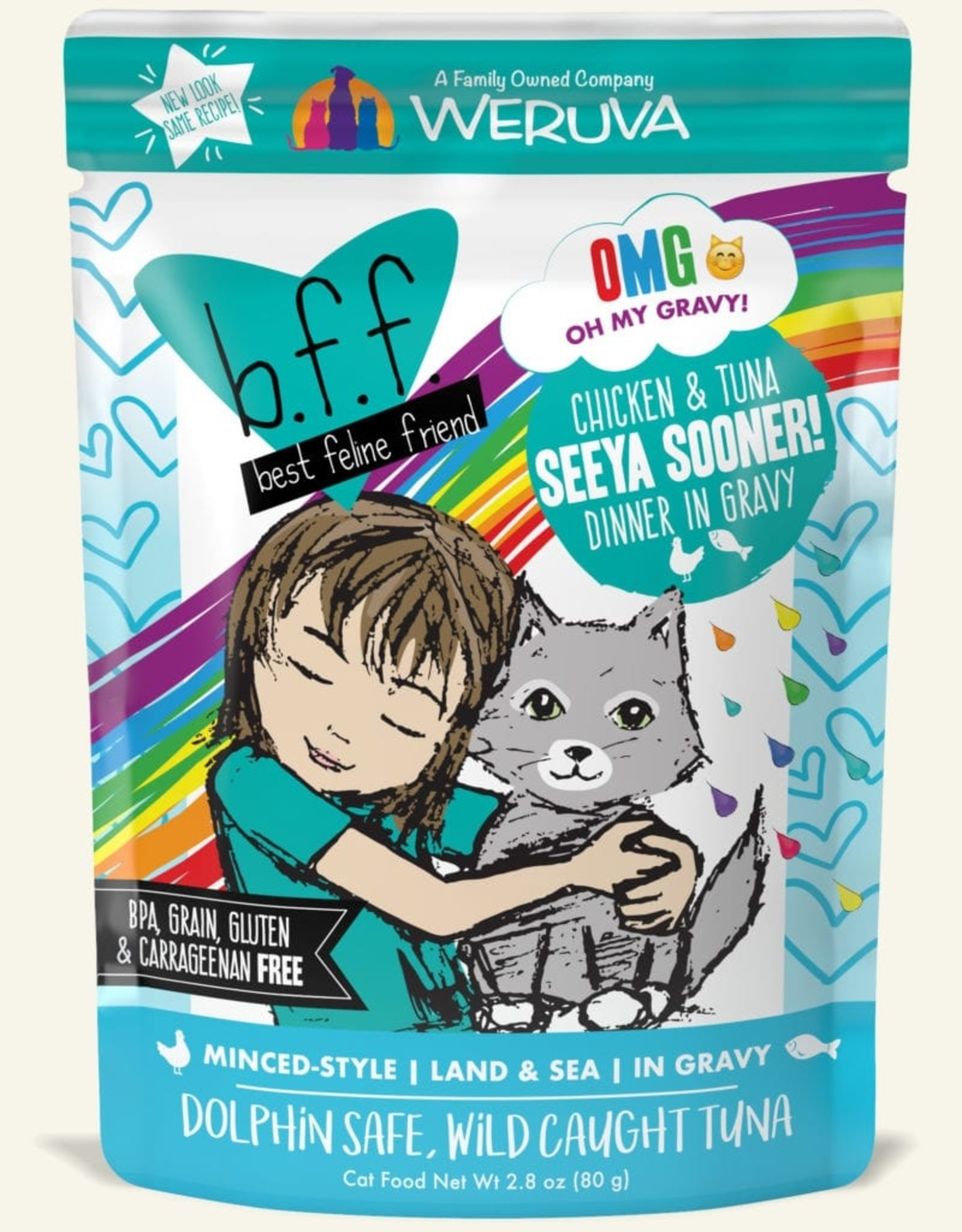 WERUVA Cat BFF Seeya Sooner! Minced - Grain-Free 2.8oz