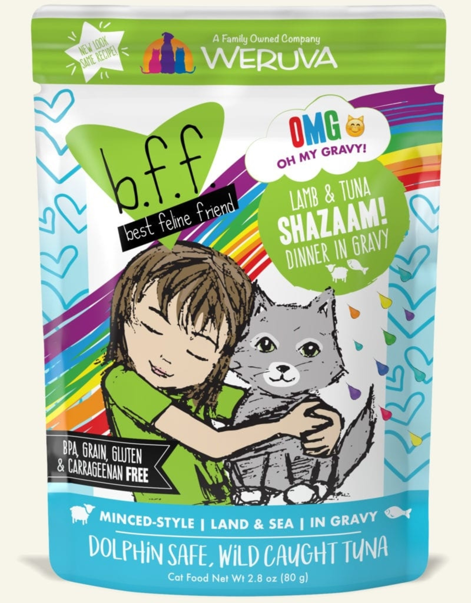 WERUVA Cat BFF Shazaam! Minced - Grain-Free 2.8oz
