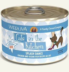 WERUVA Cat Splash Dance Stew - Grain-Free 6oz