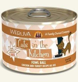 WERUVA Cat Fowl Ball Stew - Grain-Free 6oz