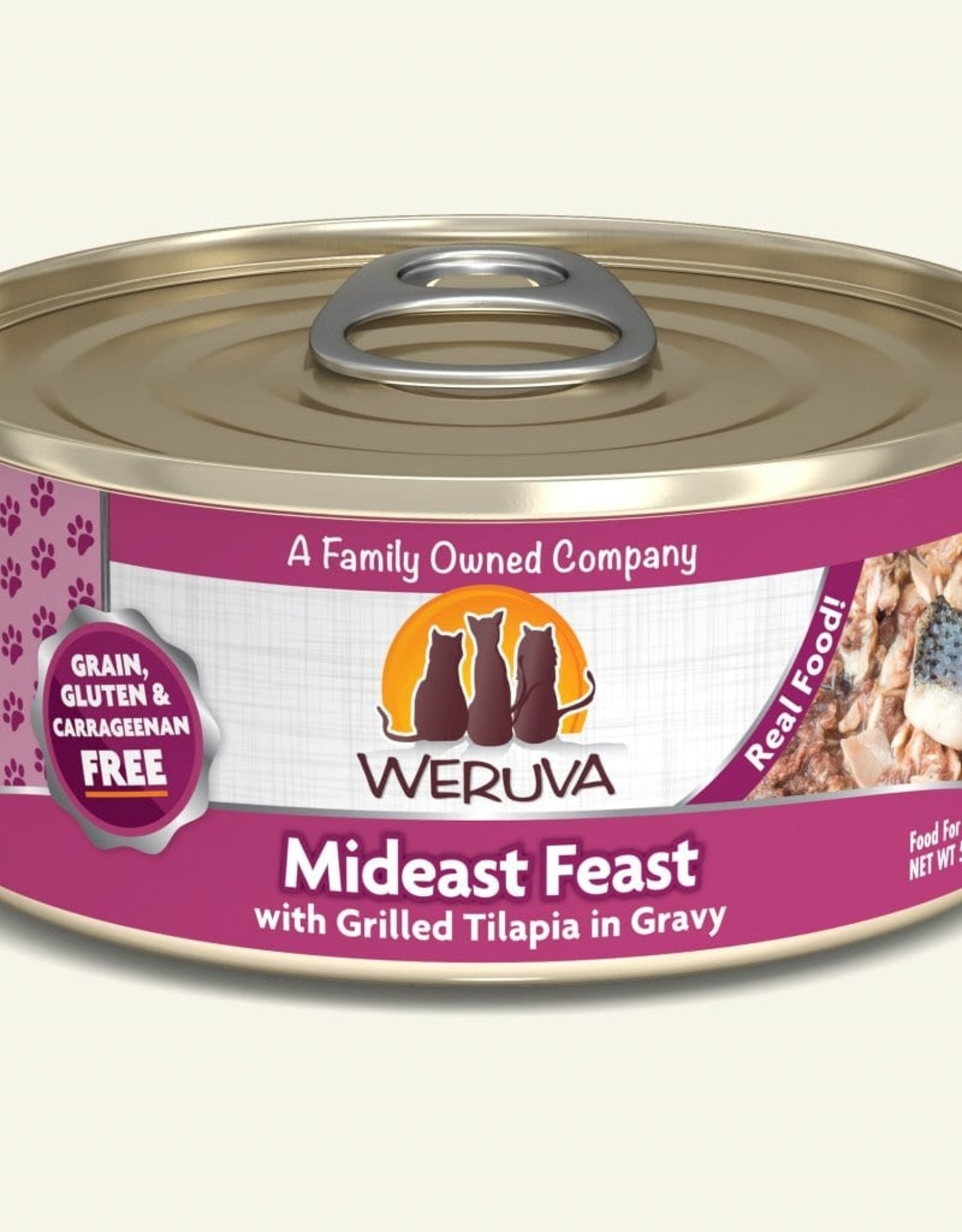 WERUVA Cat Mideast Feast Stew - Grain-Free 5.5oz