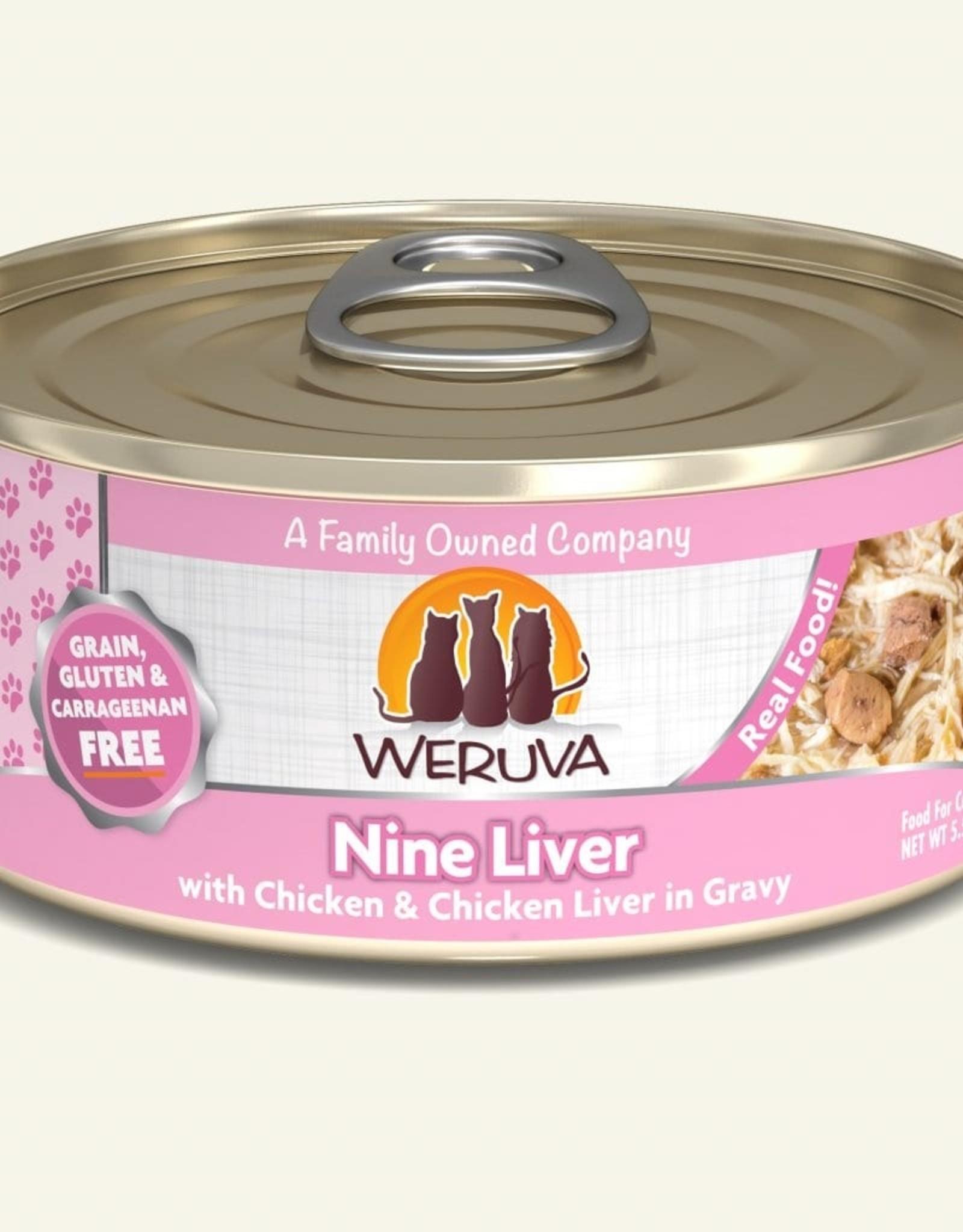 WERUVA Cat Nine Liver Stew - Grain-Free 5.5oz