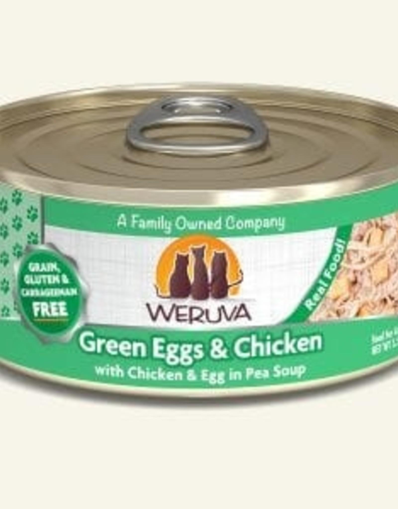 WERUVA Cat Green Eggs & Chicken Stew - Grain-Free 5.5oz