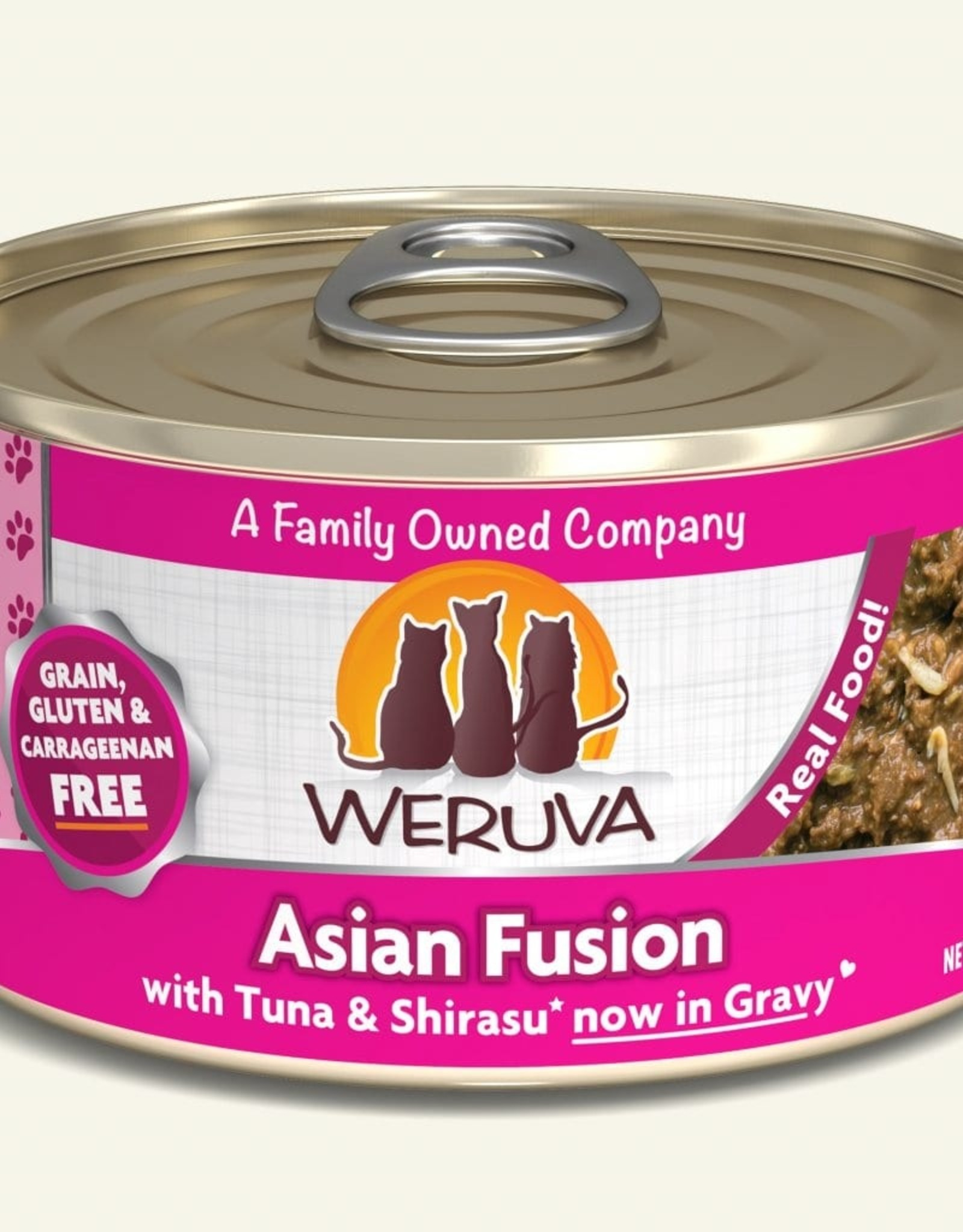 WERUVA Cat Asian Fusion Stew - Grain-Free 5.5oz