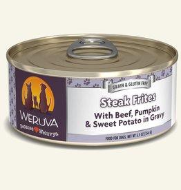 WERUVA Dog Steak Frites Stew - Grain-Free 5.5oz