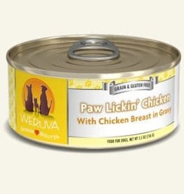 WERUVA Dog Paw Lickin' Chicken Stew - Grain-Free 5.5oz