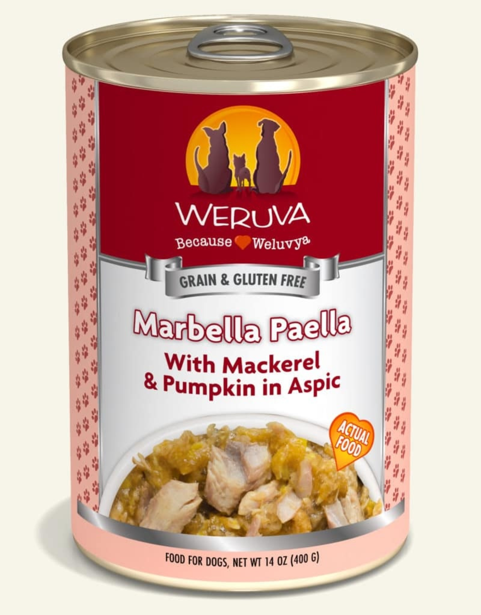 WERUVA Dog Marbella Paella Stew - Grain-Free 14oz