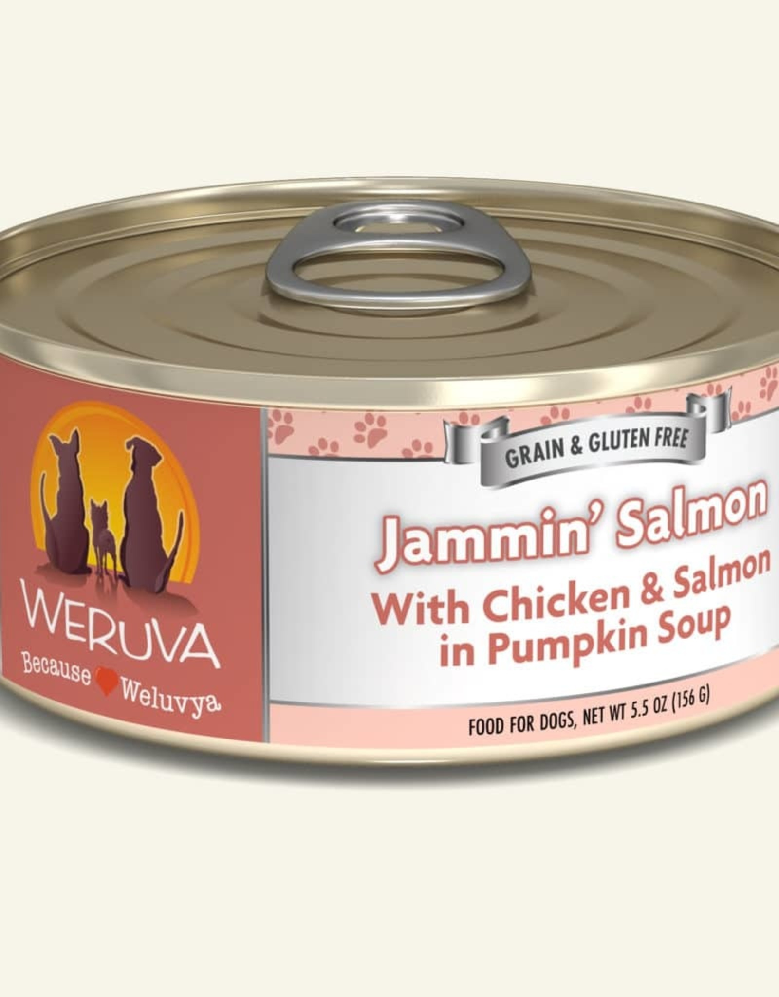 WERUVA Dog Jammin' Salmon Stew - Grain-Free 5.5oz