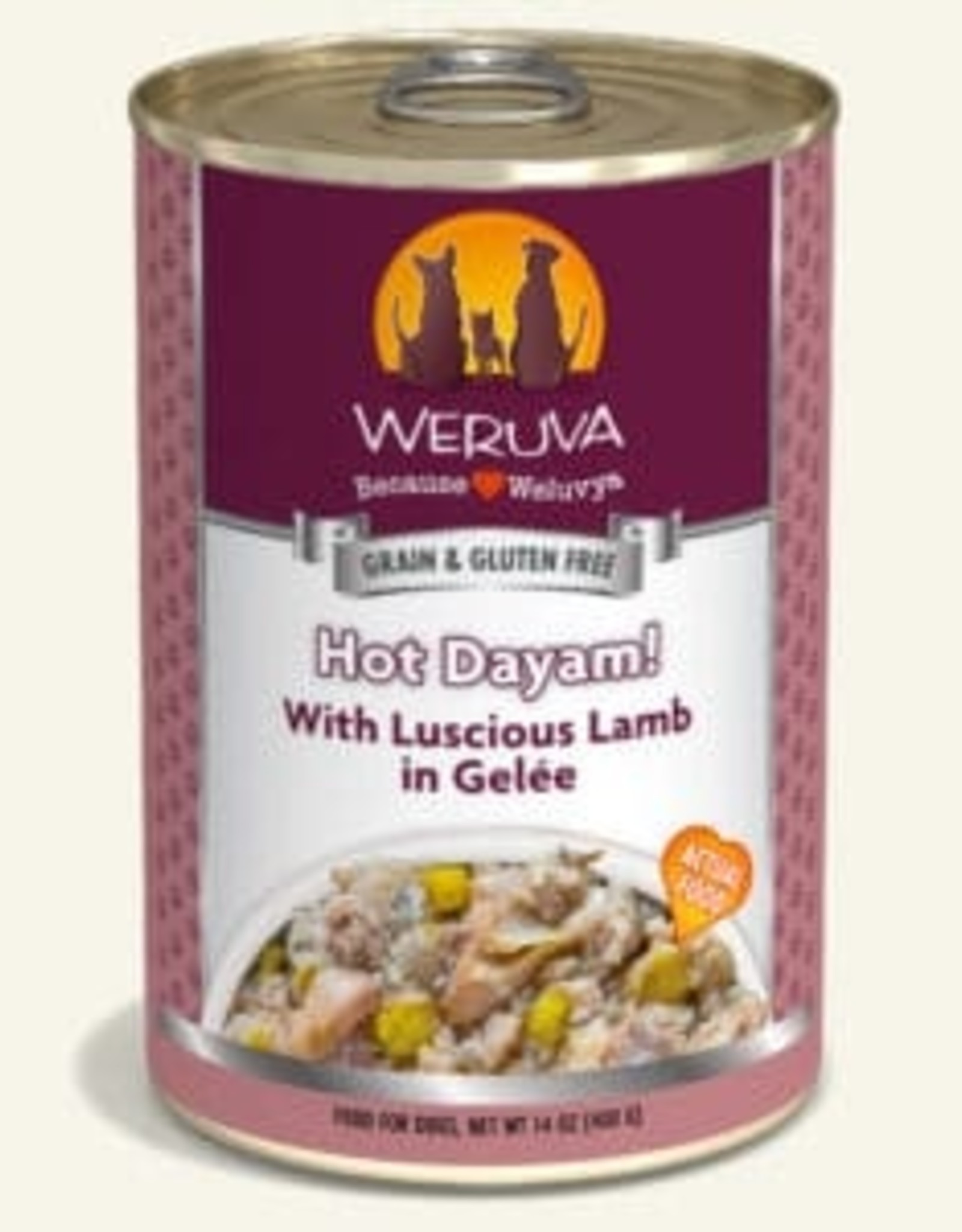 WERUVA Dog Hot Dayam! Pate - Grain-Free 14oz