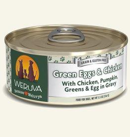 WERUVA Dog Green Eggs & Chicken Stew - Grain-Free 5.5oz