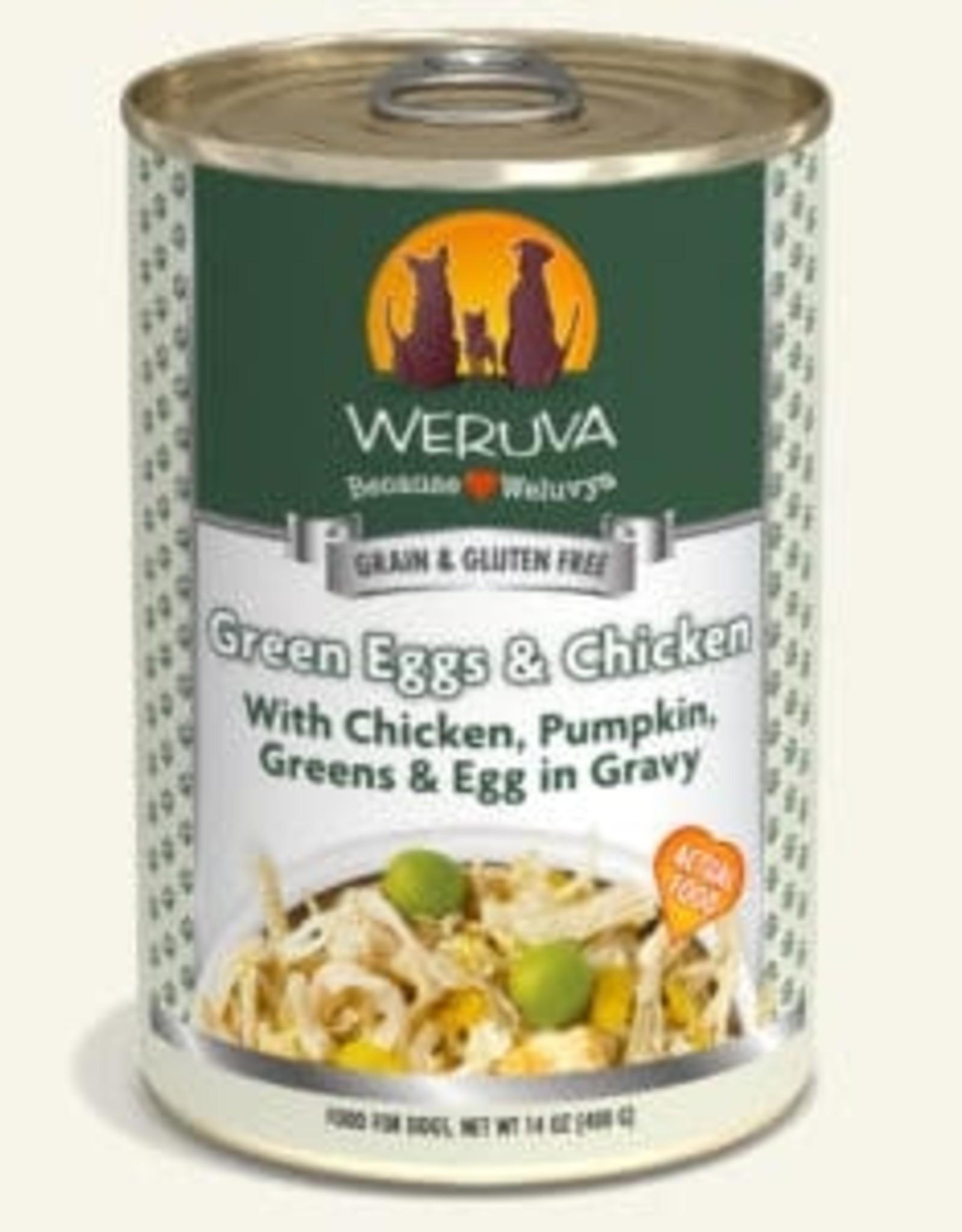WERUVA Dog Green Eggs & Chicken Stew - Grain-Free 14oz