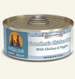 WERUVA Dog Grandma's Chicken Soup Stew - Grain-Free 5.5oz