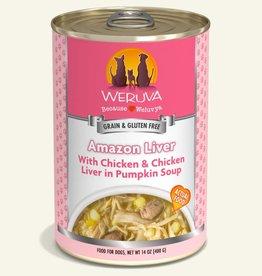 WERUVA Dog Amazon Liver Stew - Grain-Free 14oz