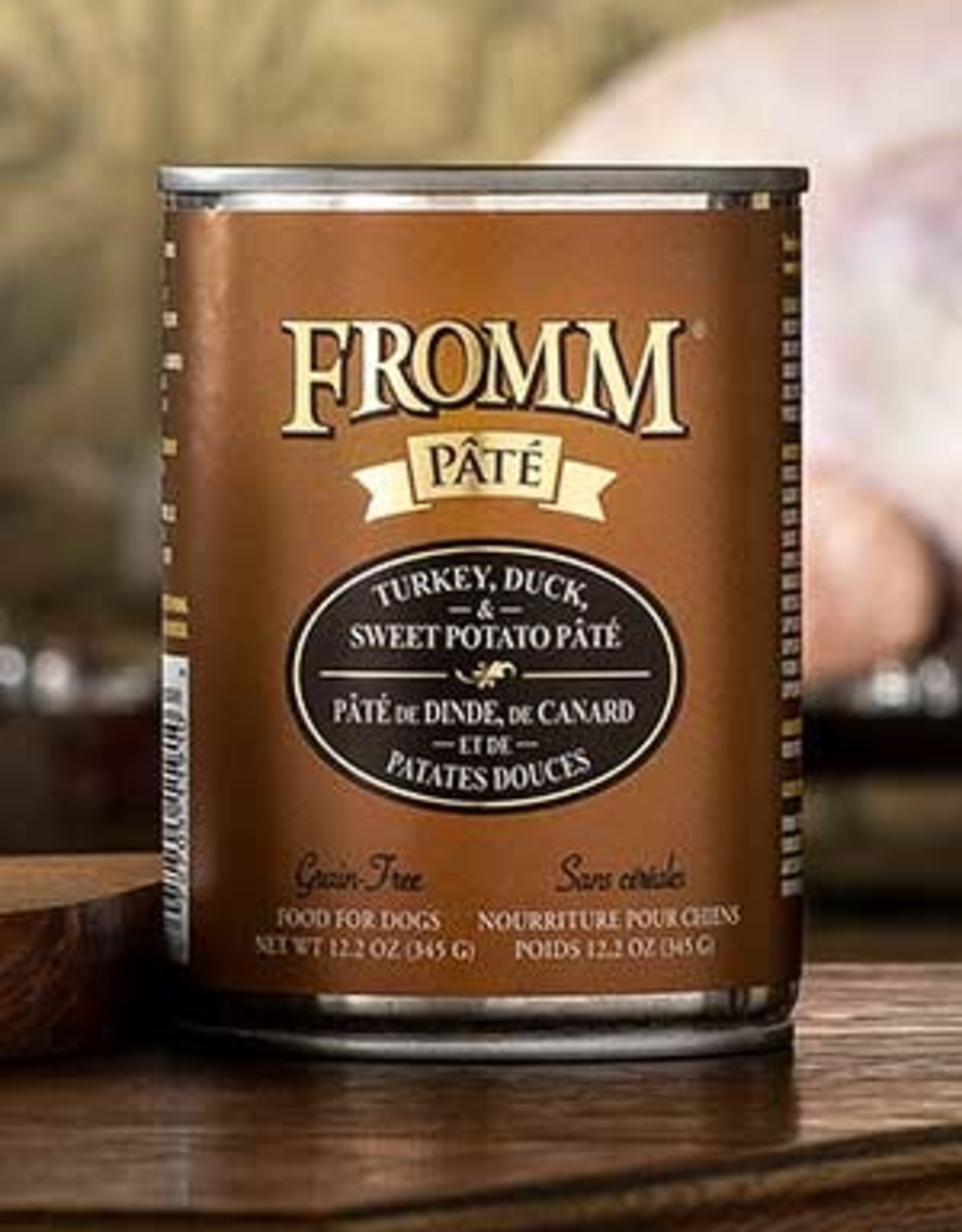 Fromm Family Pet Foods Dog Turkey, Duck, & Sweet Potato Pâté - Grain-Free 12.2oz