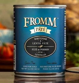 Fromm Family Pet Foods Dog Whitefish & Lentil Pâté - Grain-Free 12.2oz