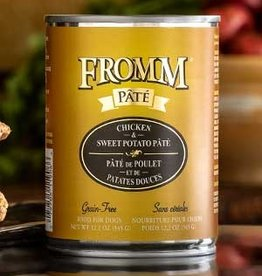 Fromm Family Pet Foods Dog Chicken & Sweet Potato Pâté - Grain-Free 12.2oz