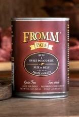 Fromm Family Pet Foods Dog Beef & Sweet Potato Pâté - Grain-Free 12.2oz