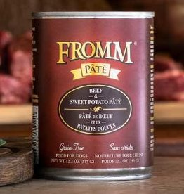 Fromm Family Pet Foods Dog Beef & Sweet Potato Pâté - Grain-Free 12.2oz