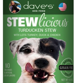 Daves Pet Food Dog Turducken Stew - Grain-Free 13oz