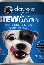 Daves Pet Food Dog Meaty Beef Stew - Whole Grain 13oz