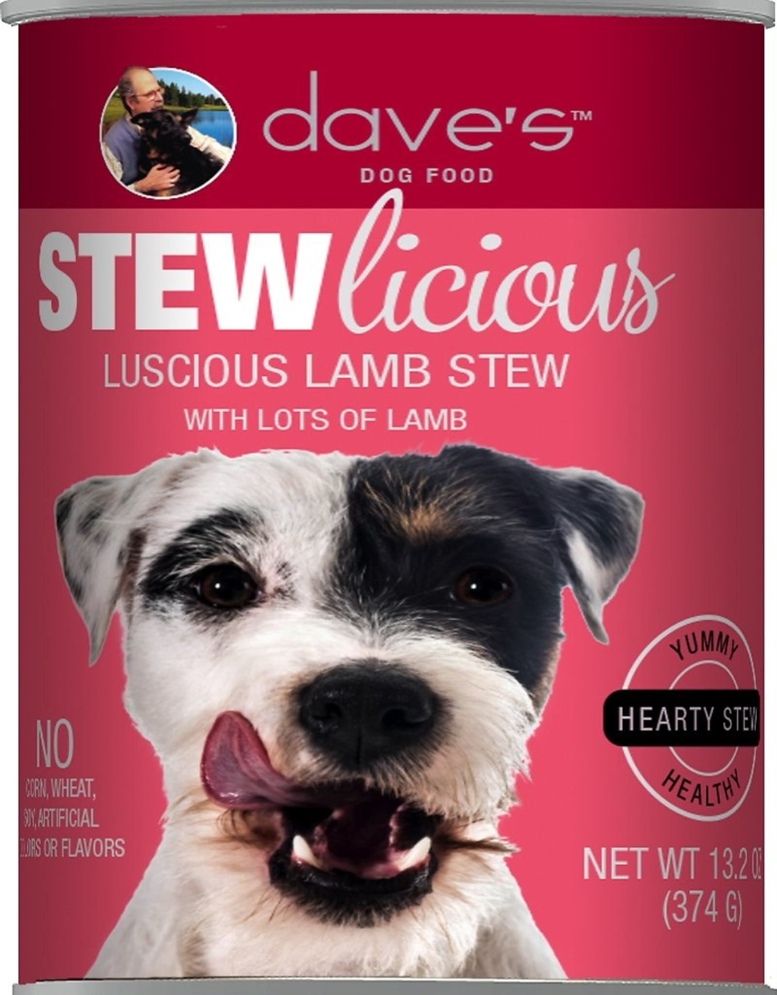 Daves Pet Food Dog Luscious Lamb Stew - Grain-Free 13oz