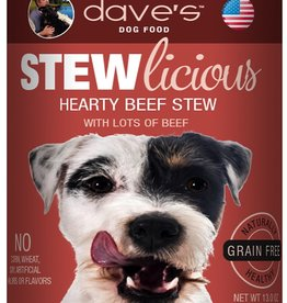 Daves Pet Food Dog Hearty Beef Stew - Grain-Free 13oz