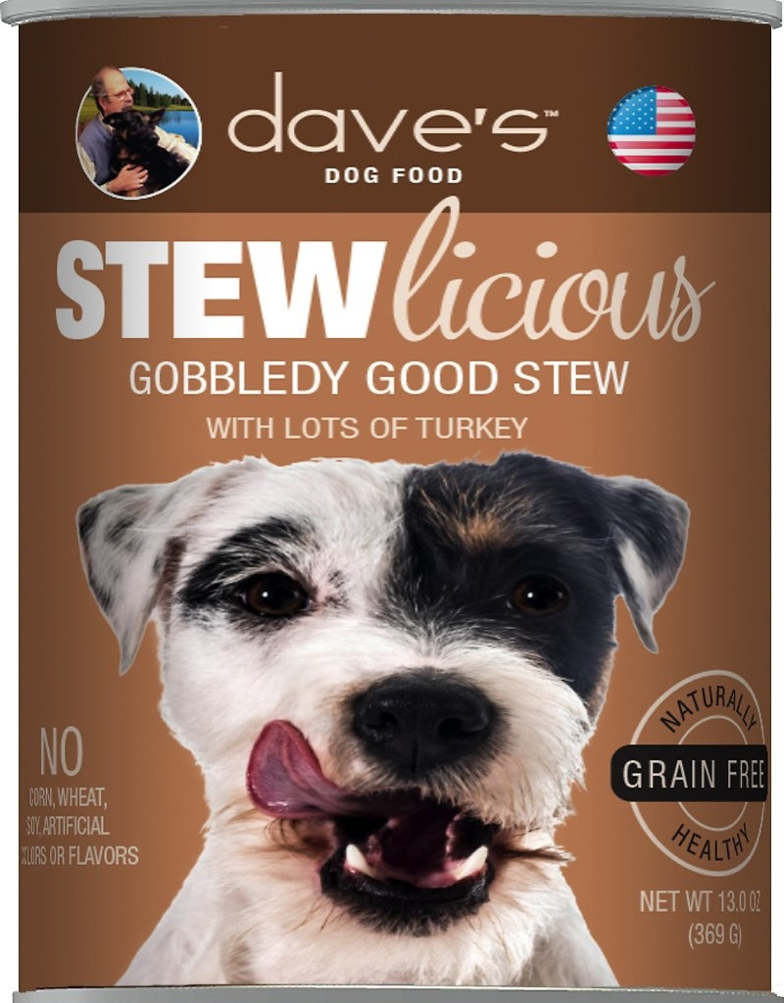 Daves Pet Food Dog Gobbledy Good Stew - Grain-Free 13oz