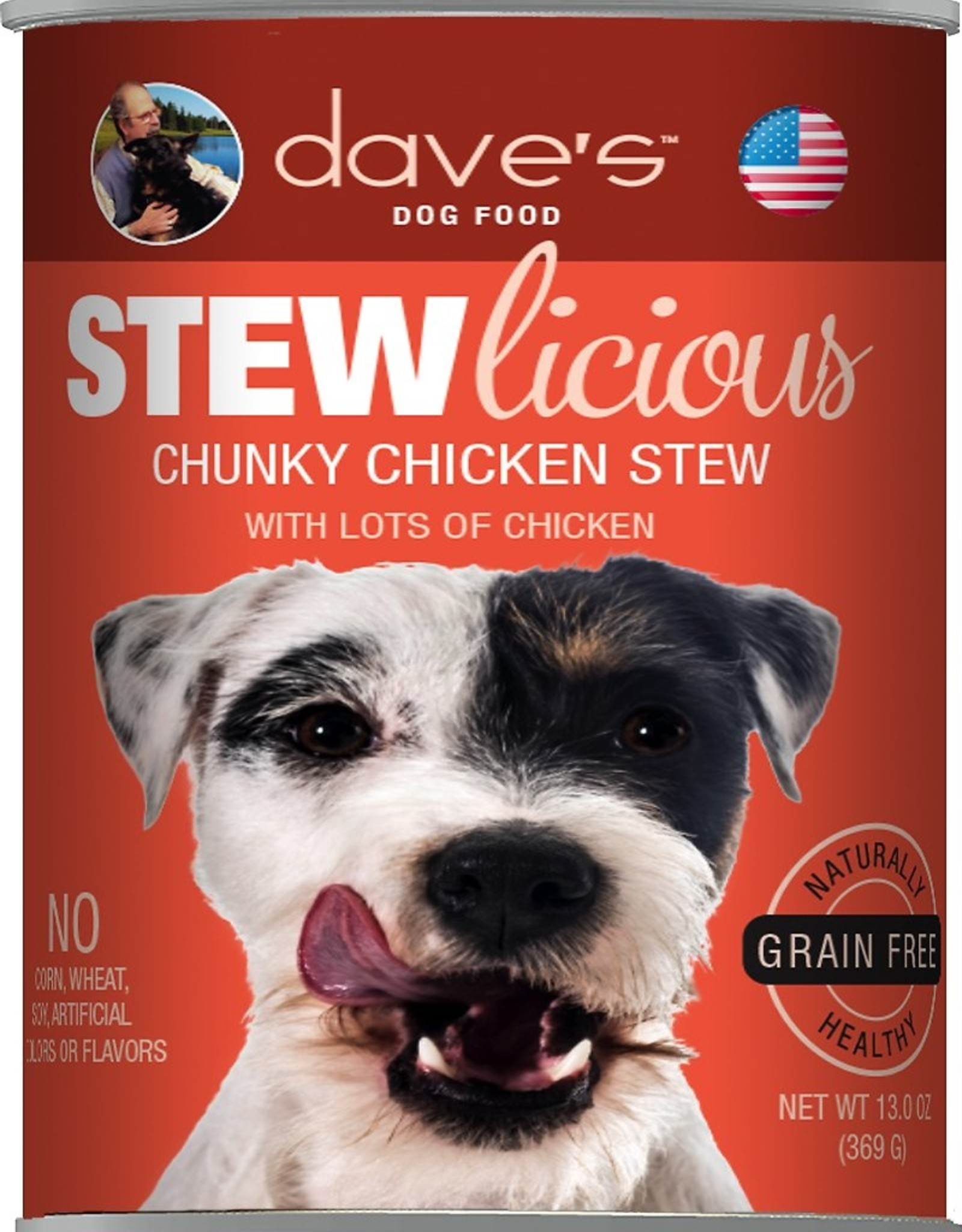 Daves Pet Food Dog Chucky Chicken Stew - Grain-Free 13oz