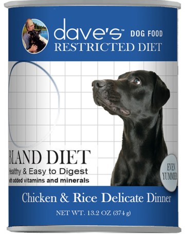 Daves Pet Food Canine Whole Grain Bland Chicken & Rice