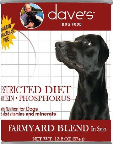 Daves Pet Food Canine Grain-Free Restricted Diet Low Phosphorus