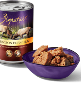 Zignature Dog Venison Pate - Grain-Free 13oz