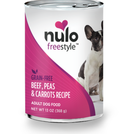 Nulo Dog Beef, Peas, & Carrots Pate - Grain-Free 13oz