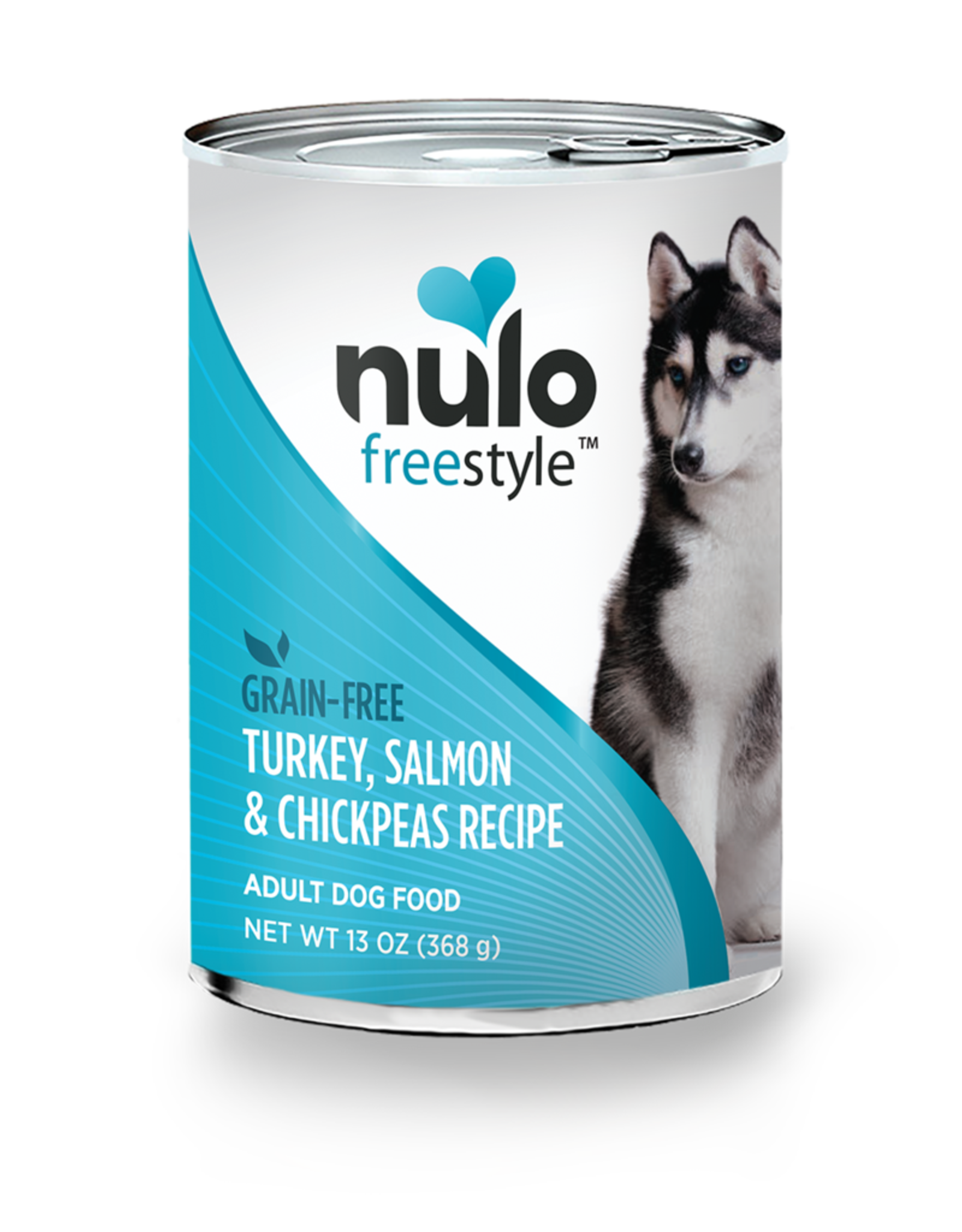 Nulo Dog Turkey, Salmon, & Chickpea Pate - Grain-Free 13oz