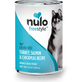 Nulo Dog Turkey, Salmon, & Chickpea Pate - Grain-Free 13oz