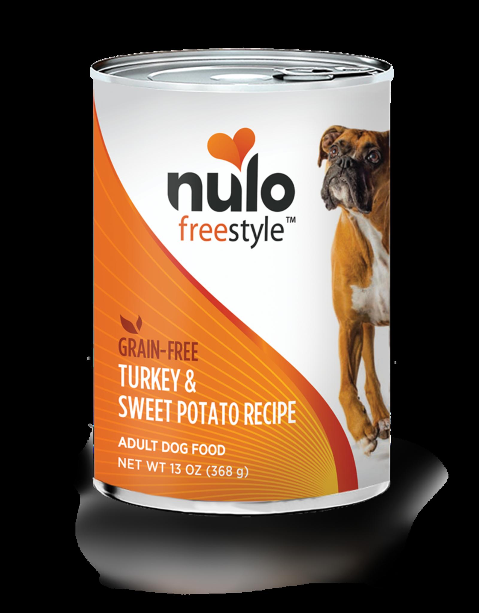 Nulo Dog Turkey & Sweet Potato Pate - Grain-Free 13oz