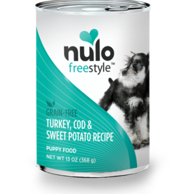 Nulo Dog Turkey, Cod, & Sweet Potato Puppy Pate - Grain-Free 13oz