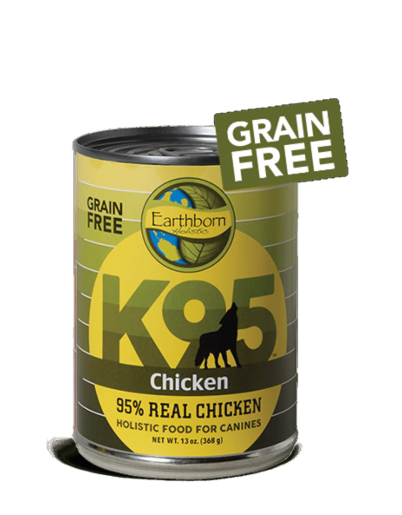 Earthborn Holistic Dog K95 Chicken Pate - Grain-Free 13oz