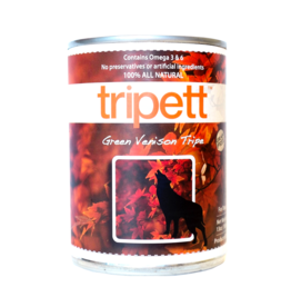 PetKind Dog Green Venison Tripe Tripett - Grain-Free 12.8oz