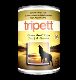 PetKind Dog Green Beef Tripe, Duck & Salmon Tripett - Grain-Free 12.8oz