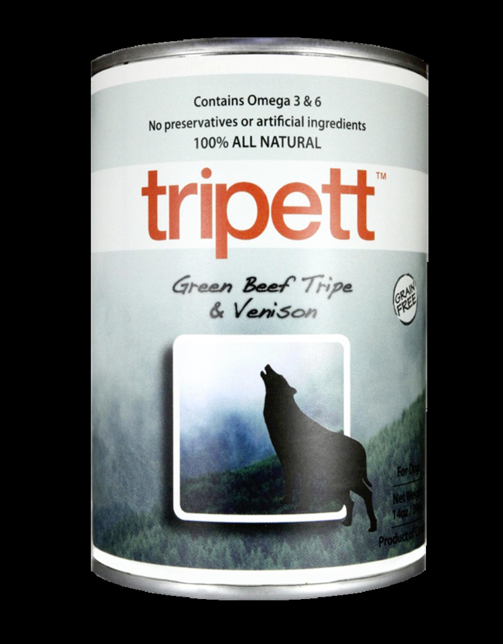 PetKind Dog Green Beef Tripe & Venison Tripett - Grain-Free 12.8oz