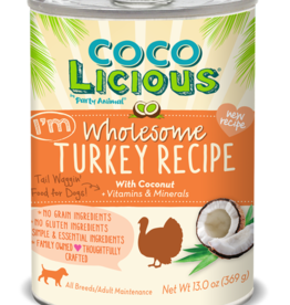 Party Animal Dog Cocolicious Wholesome Turkey Pate - Grain-Free 13oz