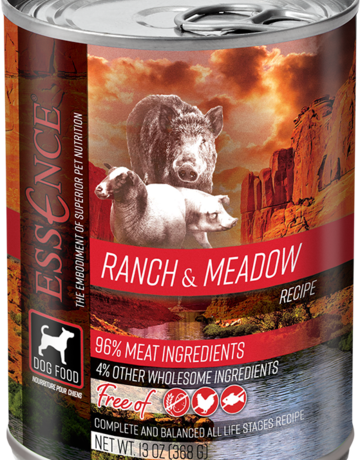 Essence Pet Foods Dog Ranch & Meadow Pate - Grain-Free 13oz