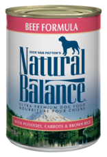 Natural Balance Dog Ultra Beef Pate - Whole Grain 6oz